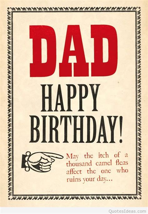 for dads birthday happy birthday greetings messages