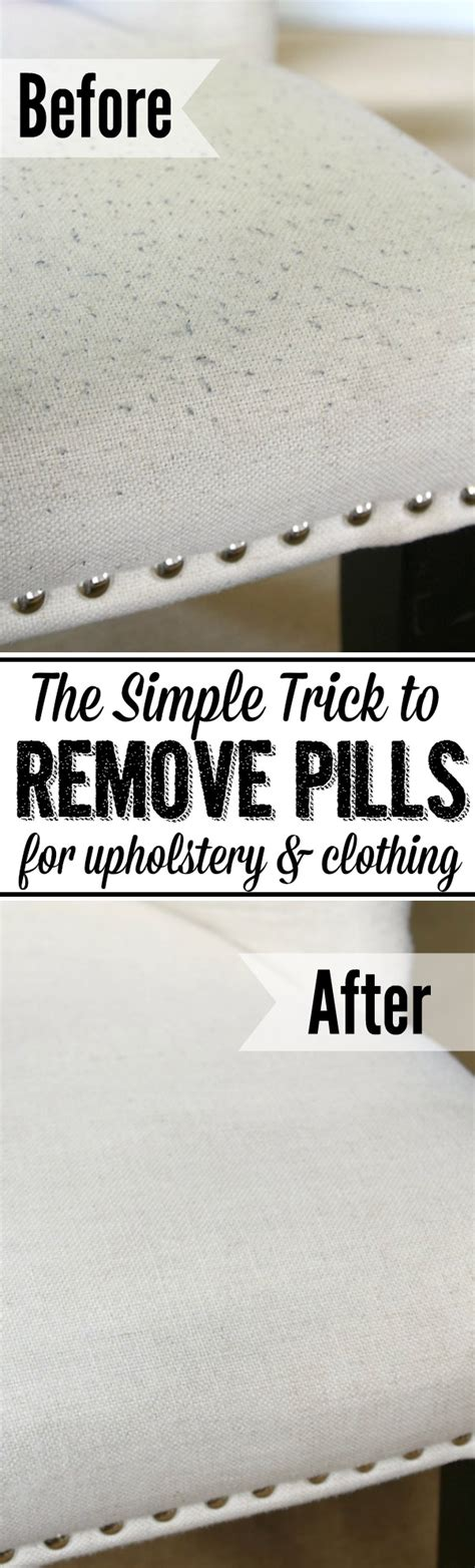 How To Remove Upholstery by How To Remove Pills From Upholstery And Clothing Clean