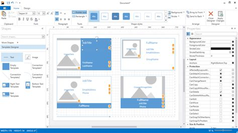 diagram designer templates what s new in 2016 vol 2 devexpress