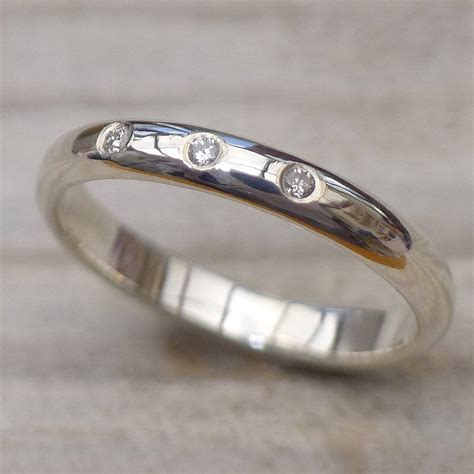 Handmade Silver Wedding Rings - handmade silver wedding ring by lilia nash