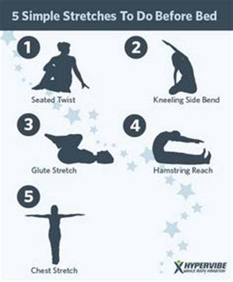 should you exercise before bed bedtime stretches on pinterest stretches before bed