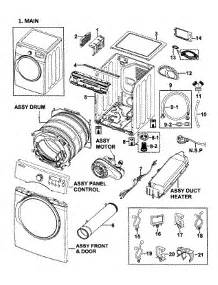 Samsung Clothes Dryer Repair Parts For Samsung Dv350aep Xaa 0000 Dryer