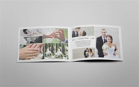 indesign wedding album templates wedding catalog book album on behance