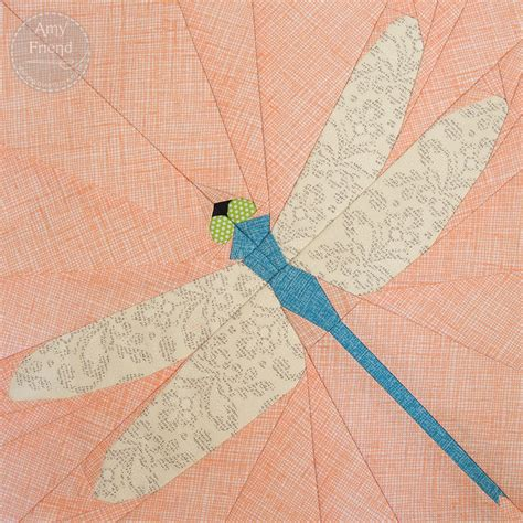 Dragonfly Patterns For Quilting by Dragonfly Paper Pieced Pattern During Time