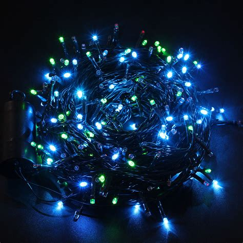 72 300 Led Christmas Xmas Lights Outdoor String Light Outdoor Battery Operated Lights With Timer