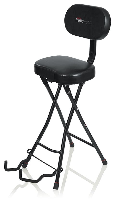 guitar stool with backrest the best guitar chair the stool you need to improve your