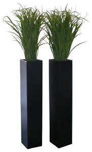 britz tall planter modern indoor pots and planters