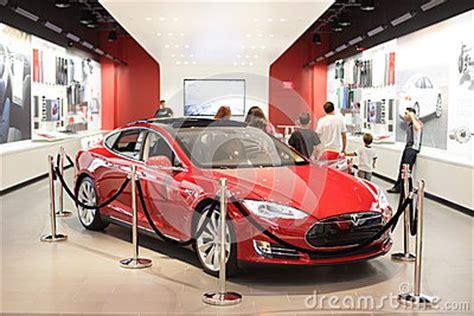 Tesla Motors Dadeland Tesla Motors Editorial Image Image 31487550