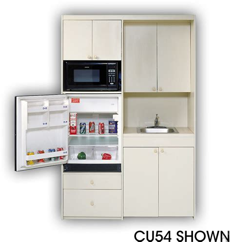compact kitchens acme cu57 compact kitchen with stainless steel sink 1 cu