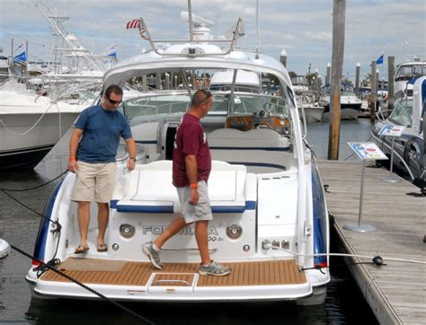 atlantic city boat show september many browsing but few buying first day of atlantic city