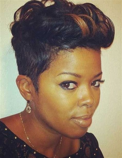 short barber hair cuts on african american ladies 28 trendy black women hairstyles for short hair popular