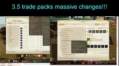 archeage trading goods packs guide archeage trade pack changes explained 3 5 info wow its