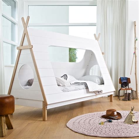 Luxury Bunk Beds For Adults by Kids Teepee Cabin Bed In White Solid Pine Cabin Beds