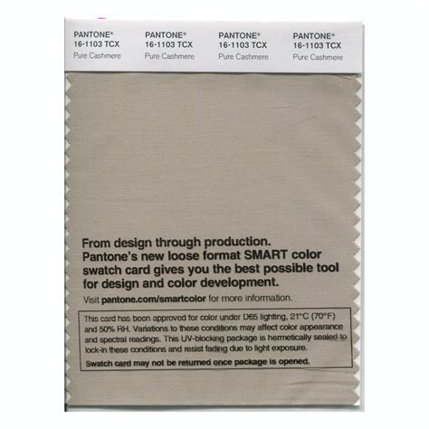 pantone cocoandcashmere buy pantone smart swatch 16 1103 pure cashmere
