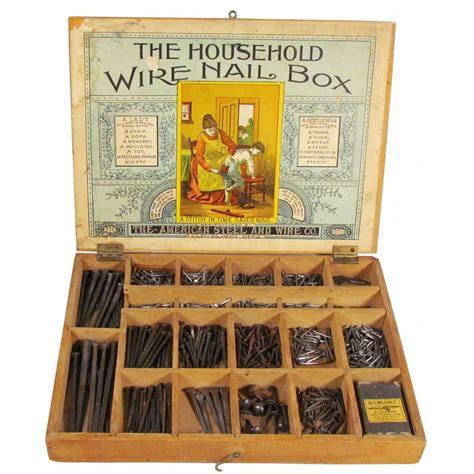 the household wire nail box