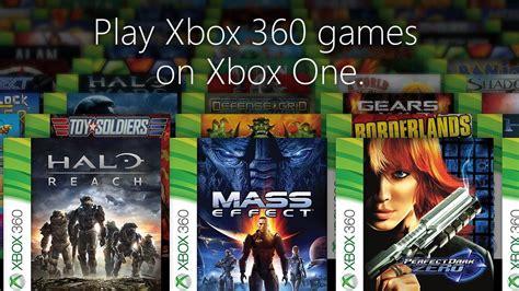 cinque nuovi titoli xbox 360 retrocompatibili su xbox one xbox one nuovi giochi xbox 360 retrocompatibili verranno
