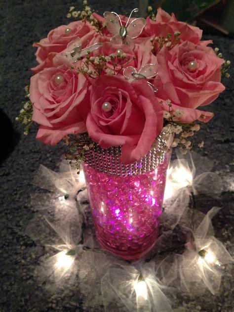 Flower Water Vase Centerpiece by Centerpiece With Water 6 14 14