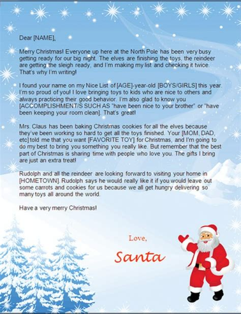 create a printable letter from santa create free santa letters online hubpages