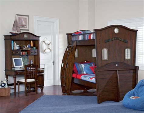 Pirate Bunk Beds Powell Shiver Me Timbers Pirate Theme Bunk Bed