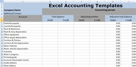 Accounting Templates Accounting Templates In Mass Page 1 Of 3 Accounts Receivable Aging Free Trust Accounting Excel Template