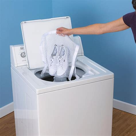 how to wash sneakers in the washing machine sneaker washer dryer bag the awesomer
