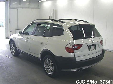 2004 bmw x3 for sale 2004 bmw x3 white for sale stock no 37341 japanese