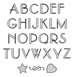 home format fonts embroidery font stippled alphabet font