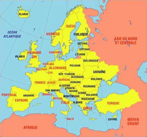 map de l europe carte europe de l est images et photos arts et voyages