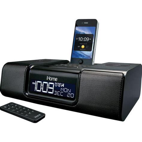 ihome cabinet radio ihome ia9 app enhanced dual alarm clock radio ia9bzc b h photo