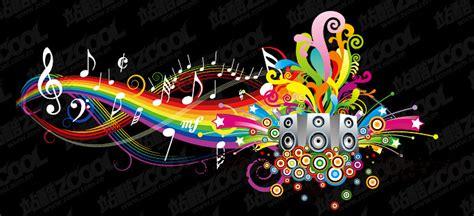 imagenes tema musical notas musicales de colores animadas imagui
