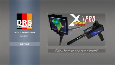 drs  pro  underground scanner  long range locator