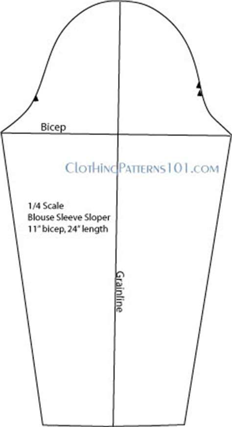 pattern making sleeves how to draft a basic blouse