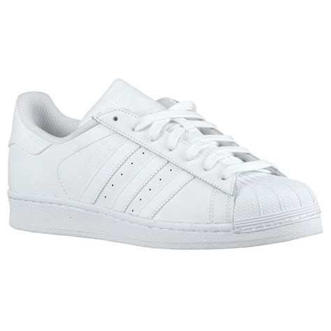 shell toe sneakers adidas superstar womens s85139 white leather shell toe