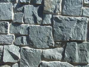 Exterior Home Materials - bedrock stone products