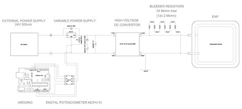 how to test resistors in circuit d i y electroactive polymers high voltage test circuit iaac