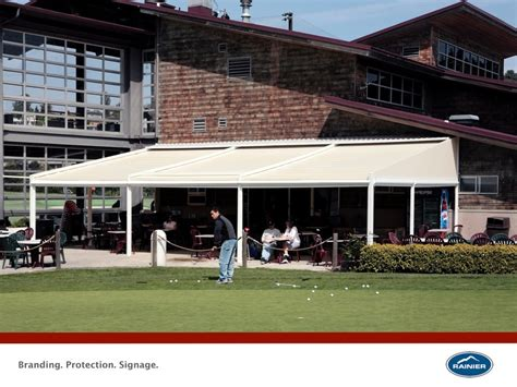 Commercial Patio Awnings by Commercial Awnings Commercial Awnings