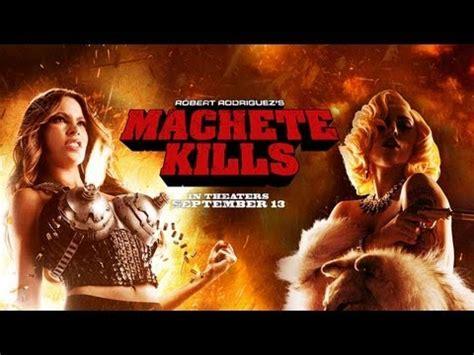 michelle rodriguez movies list machete kills trailer is here movienewz