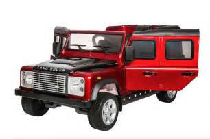 Land Rover Jeep Land Rover Defender 12v Licensed Electric Ride On Jeep