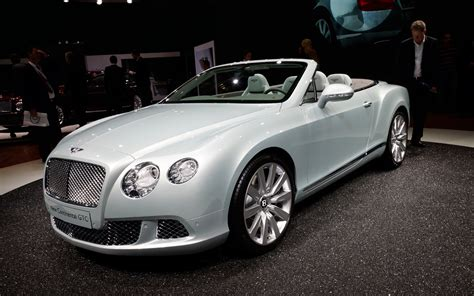 2012 bentley continental gtc rear three quarters photo 1