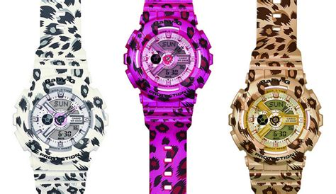 Baby G Casio Gls 5600 Pink be bold sporty with leopard print baby g ba 110lp