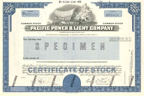 Pacific Power And Light by Pacific Power Light Company