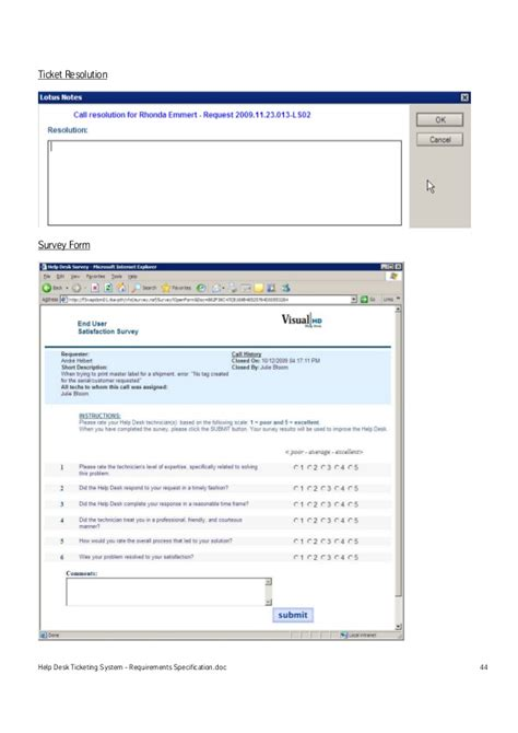 heat help desk ticketing system help desk ticketing system requirements specification