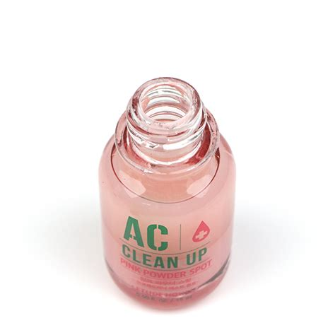 Etude Pink Powder Spot etude house ac clean up pink powder spot set review