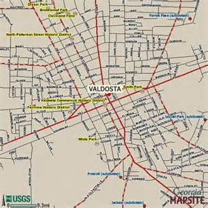 map of valdosta directions valdosta state
