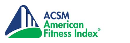 2016 afi report american fitness index acsm american fitness index