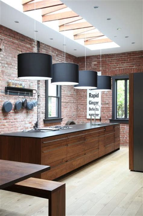 brick wall in kitchen the granite gurus 10 kitchens with exposed brick walls