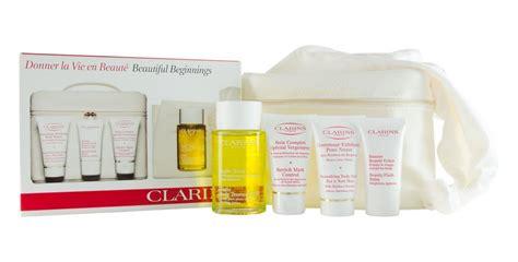 Murah Clarins Stretch 30ml clarins scrub 30ml flash balm 15ml stretch 30ml gift set ebay