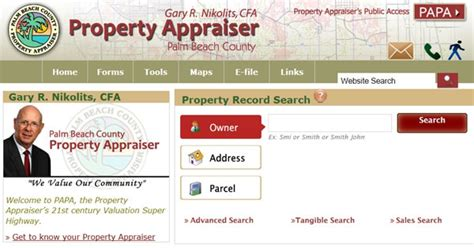 County Property Records County Property Appraiser County Property Appraiser Palm