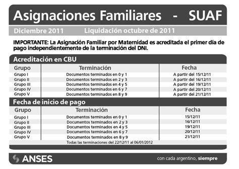 anses fechas de cobro asignacion familiar por suaf fecha de cobro asignacion diciembre download pdf