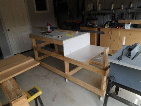 New Yankee Workshop Kitchen Cabinets New Yankee Workshop Table Saw Station Plans Woodworking Projects Plans